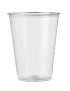 Pack of 100 regular cups (225ml)