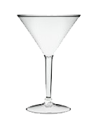 Pack of 100 martini cups (200ml)