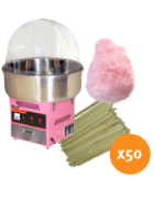 Fairy floss package 1 (up to 50 serves)