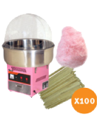 Fairy floss package 2 (up to 100 serves)