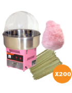 Fairy floss package 4 (up to 200 serves)