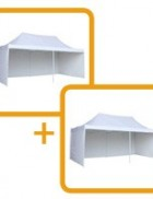 3 x 12m pop up marquee (2 of the 3×6 marquees joined together with a gutter)