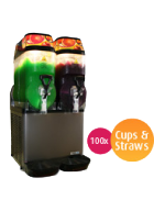 Slushie Machine – Package 2 – *120 Drinks*