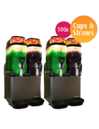 Slushie Machine – Package 4 – *240 Drinks*