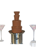 Package 6 – Large commercial chocolate fountain (serves up to 150 guests)
