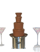 Package 4 – Large commercial chocolate fountain (serves up to 150 guests)