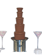 Package 6 – King chocolate commercial fountain (serves up to 200 guests)