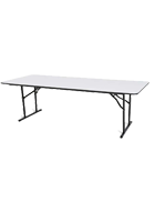 Timber trestle table 2.4m