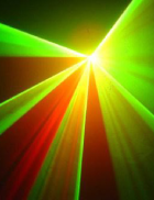 Tri coloured laser