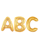 Jumbo Gold Letters