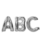 Jumbo Silver Letters