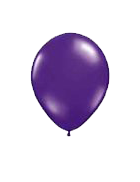 25 Pack Purple Latex 12″ Balloons