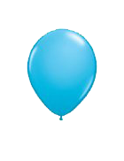25 Pack Light Blue Latex 12″ Balloons