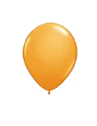 25 Pack Light Orange Latex 12″ Balloons