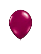 25 Pack Light Red Latex 12″ Balloons