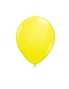 25 Pack Light Yellow Latex 12″ Balloons