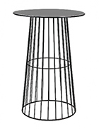 Black Wire Cocktail Table / Black Arrow Cocktail Table