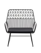 Black Single Arrow Chair