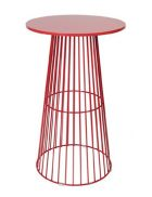 Red Wire Cocktail Table
