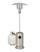 Package 1 – 1 x Mushroom heater with 9kg gas bottle included