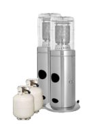 Package 2 – 2 x Area heater with gas bottles included