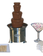 Package 1 – Small Commercial fountain (serves up to 40 guests)
