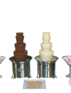 Package 5 – 2 x Medium commercial fountains (serves up to 150 guests)