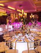 Glow Banquet Tables